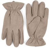 Topman Nubuck Leather Gloves
