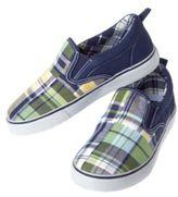 Crazy 8 Plaid Patchwork Slip-On Sneaker