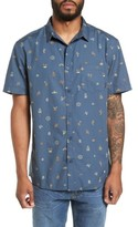 Quiksilver Men's Baja Mini Print Woven Shirt