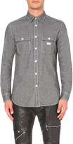 Diesel S-Munste slim-fit cotton shirt