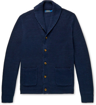 Polo Ralph Lauren Shawl-Collar Cotton Cardigan
