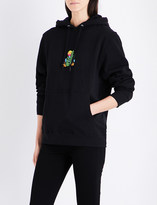 Stussy Cactus-embroidered cotton-blend hoody