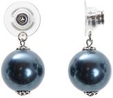 Infinity Earring Jacket with Swarovski Crystal Pearls