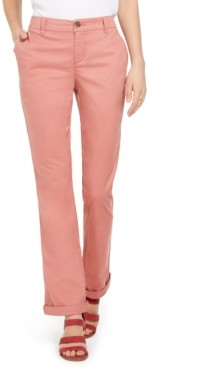 Style&Co. Style & Co Bootcut Chino Pants, Created For Macy's