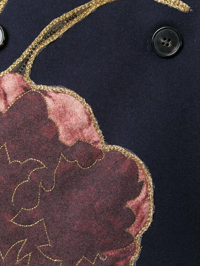 Valentino 'Kimono 1997' peacoat