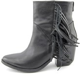 Rudsak Womens 8214082 Boot Leather Pointed Toe Ankle Fashion, Black, Size 8.5.