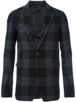 Rick Owens checked blazer