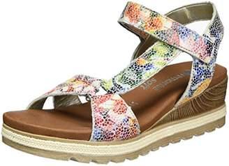 Remonte D6352, Women's Wedge Heels Sandals, Multicolor (Ice-multi/90), (41 EU)