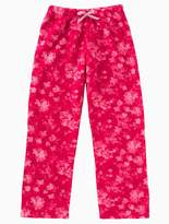 Calvin Klein Girls Plush Floral Pants