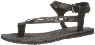 Bronx Womens Bx 635 Shoes with Strap Black Size: 6.5