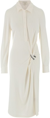Bottega Veneta Jersey Crepe Women's Chemisier Dress