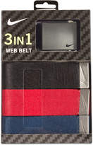 Nike Men's 3-in-1 Web Belt Pack