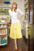 Shabby Apple Garden Party Skirt Yellow