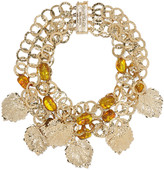 Rosantica Panico gold-tone quartz necklace