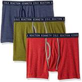 Kenneth Cole Reaction Men's Boxer Brief Stripe Set