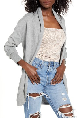 Leith Open Front Cardigan