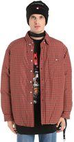 Vetements Neighbor Shirt Style Bomber Jacket