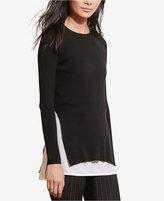 Lauren Ralph Lauren Layered-Look Sweater