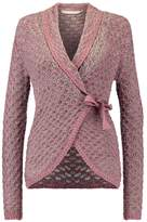 Cream LOUISA Cardigan old rose