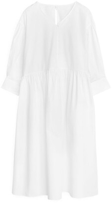 Arket Wide Poplin Dress