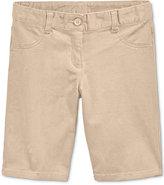 Nautica Uniform Bermuda Shorts,Plus Girls