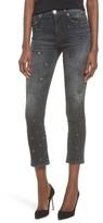 Hudson Women's Harper High Waist Crop Baby Boot Jeans
