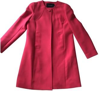 Tara Jarmon Pink Coat for Women