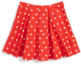 Kate Spade Polka Dot Circle Skirt (Toddler & Little Girls)
