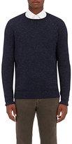 Barneys New York Men's Alpaca-Blend Sweater-NAVY