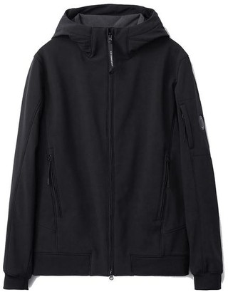 C.P. Company Shell Hooded Lens Jacket Black - 52