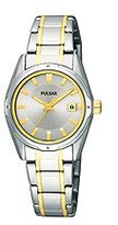 Pulsar Women's PXT811 Functional Silver Dial Watch