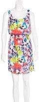 Alice + Olivia Silk Mini Dress