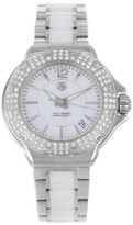 Tag Heuer Formula One WAH1215.BA0861 Stainless Steel & Ceramic with White Dial 36mm Womens Watch