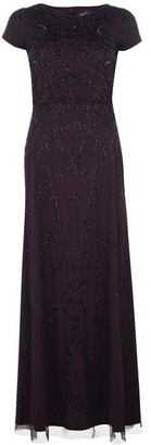 Adrianna Papell Long Bead Dress