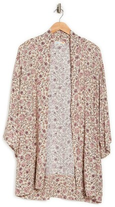Patterned Woven Kimono