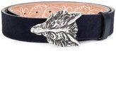 Etro fox buckle belt
