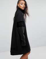Puma Fenty X By Rihanna Oversized High Neck Sweat Dress