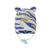 Kenzo KidsBaby Boys Blue Knitted Tiger Hat
