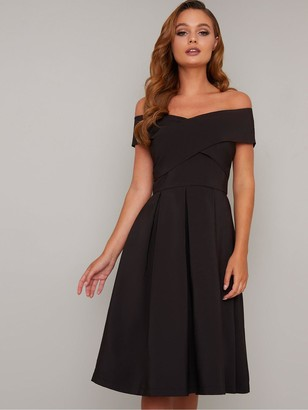 Chi Chi London Sevda Dress - Black
