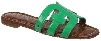 Sam Edelman Bay Flat Patent Leather Sandals