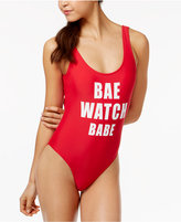 California Waves Bae Watch One-Piece Swimsuit