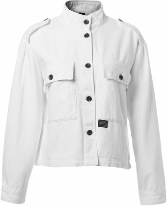True Religion Women's Military Relaxed Jacket