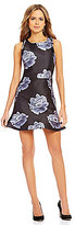 Gianni Bini Drew Floral Bloom Sleeveless A-Line Dress