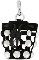 Alexander Wang Mini Roxy bag charm - women - Leather/metal - One Size
