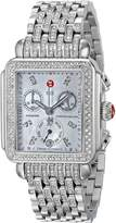 Michele Women's MWW06P000116 Deco Analog Display Swiss Quartz Silver Watch