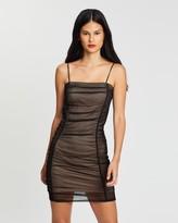 Miss Selfridge Ruched Body-Con Mini Dress