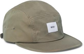 WTAPS Logo-Appliqued Cotton-Blend Twill Camper Cap