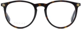 Gucci Gg0027o Havana Glasses