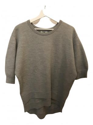 Acne Studios Grey Wool Knitwear