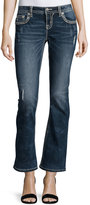 Miss Me Mid-Rise Boot-Cut Jeans, Blue